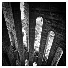 Tour clocher Sagrada Familia N&B (thierrybalint) Tags: sagradafamilia sagrada basilique religion catholique flèche tourclocher espagne nikon nikoniste balint thierrybalint nb bw
