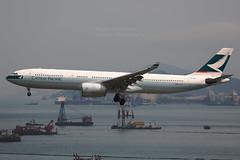 """Airbus, A330-343, B-HLR, """"Cathay Pacific"""", VHHH, Hong Kong (Daryl Chapman Photography) Tags: bhlr airbus a330 a333 a330343 cx cpa cx772 cathaypacific hongkong china sar hkia clk cheklapkok hongkonginternationalairport plane planes planespotting planephotography aviation aviationphotography 421"""
