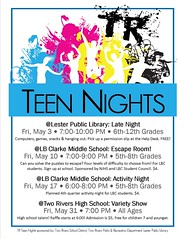 TR Teen Nights May 2019