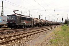 EBS 155 007-8 Kesselzug, Graben-Neudorf (michaelgoll777) Tags: ebs br155