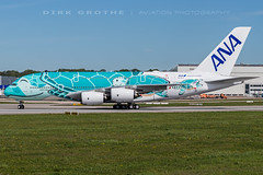 ANA_A380_JA382A_20190425_XFW-3 (Dirk Grothe | Aviation Photography) Tags: ana all nippon airways a380 honu emerald green ja382a kai xfw
