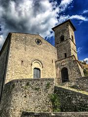 Aquino Chiesa (joseph.yarbrough) Tags: aquino italia italy landulf monteasprano rivermelfa roccasecca roma rome stthomasaquinas valledicomino castle chiesa church countofaquino fortification tileroof lazio