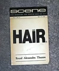 Gimmie A Head With Hair, Long Beautiful Hair! (☼☼ 84'F Here Today!!!☼☼) Tags: odc souvenir playbill hair 1970 royalalexandertheatre toronto canada