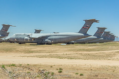 USAF C-5 Galaxy's in AMARC (Mark_Aviation) Tags: amarc amarg 309th maintenance group storage boneyard davis monthan air force base tucson arizona az desert usaf c5 galaxys galaxy super c5a 80215 80211 00467 90019 aircraft airplane military jet old loud