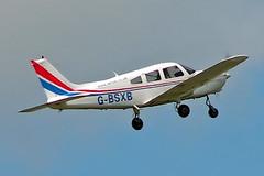 G-BSXB   Piper PA-28-161 Warrior II [28-8416125] Staverton~G 07/08/2005 (raybarber2) Tags: 288416125 airportdata cn288416125 egbj filed flickr gbsxb johnboardleycollection planebase single ukcivil