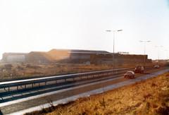 Whessoe Engineering, Stockton around 1985 (Wolfgrade) Tags: whessoe a66 road stocktonontees england