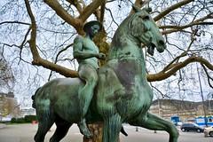 Hamburg 2019 – Der junge Reiter (Michiel2005) Tags: derjungereiter reiter hermannhahn hahn statue beeld ruiter paard horse hengst stallion hamburg deutschland germany duitsland kunsthalle