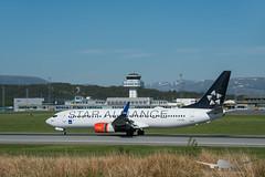 SAS - LN-RRL - B737-800 (Aviation & Maritime) Tags: lnrrl sas scandinavianairlines scandinavian staralliance boeing boeing737 b737 b737800 boeing737800 bgo enbr bergenairportflesland bergenlufthavnflesland bergen flesland norway