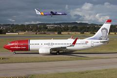 Boeing 737-8JP LN-NGD Norwegian Air Shuttle (Mark McEwan) Tags: boeing boeing737 b737 boeing7378jp lnngd norwegianairshuttle ivocaprino aviation aircraft airplane airliner edi edinburgh edinburghairport