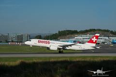 Swiss - HB-JCE - CS300 (A220-300) (Aviation & Maritime) Tags: hbjce swiss cs300 bombardier bombardierbd500cseriescs300 cseries airbus a220 airbus220 a220300 airbus220300 bgo enbr bergenairportflesland bergenlufthavnflesland bergen flesland norway