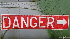 Danger Zone (Mateusz Koziatek) Tags: danger xz654 army armyaircorps westlandlynxah7 shannonaviationmuseum