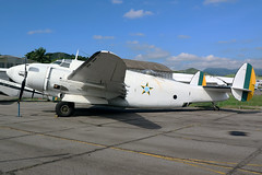 FAB2006 Former Brazilian Air Force Lockheed Model 18 Loadstar at the Museo Aerospacial Campo Dos Afonsos Rio De Janeiro on 16 April 2019 (Zone 49 Photography) Tags: aircraft airliner freighter airplane aeroplane preserved museum april 2019 sbaf riodejaneiro brazil campo afonsos airport airbase campodosafonsos museo aerospacial museoaerospacial brazilian airforce brazilianairforce forca aerea brasileira focraaereabrasiliera lockheed model 18 loadstar fab2006 2006 c60a