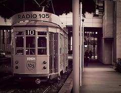 DSCF1954RTLR (Claudio Abate) Tags: milano italy tramcar retro tram atm trasporti mezzi metropoli peterwitt streetcars lombardy fujifilmxe3 monochrome sepia lombardia design composition composizione