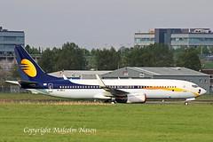 B737-8fh M-ABLU ex VT-JGF FIRST STAR SPEIR AVIATION (shanairpic) Tags: jetairliner passengerjet b737 boeing737 shannon jetairways vtjgf mablu