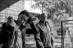 4_DSC4662 (dmitryzhkov) Tags: urban city everyday public place outdoor life human social stranger documentary photojournalism candid street dmitryryzhkov moscow russia streetphotography people man mankind humanity bw blackandwhite monochrome rain autumn badweather