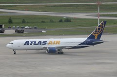 Atlas Air 767 (airforce1996) Tags: military usairforce usmilitary aircraft airplane airforce aviation usaf germany luftwaffe raf nato rhinelandpfalz deutschland ramstein ramsteinairbase