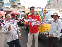 AIP Foundation organizes safe driving awareness raising campaign ahead of Khmer New Year