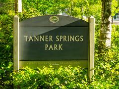 Tanner Springs Sign (Orbmiser) Tags: olympus 40150mm 43rds em1 mirrorless oregon portland tannersprings sign pearldistrict olympus40150mm