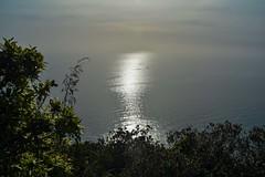 Riflessi e brume sul mare del Circeo (giorgiorodano46) Tags: aprile2019 april 2019 giorgiorodano italy sabaudia lazio circeo parconazionaledelcirceo