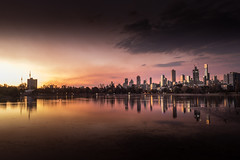 Melbourne Skyline (Valentin.LFW) Tags: melbourne skyline australia sydney photography photograher french night sunset canon80d