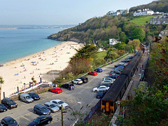 150234 & 150244 St Ives (2) (Marky7890) Tags: gwr 150234 class150 sprinter 2a38 stives railway cornwall stivesbayline train