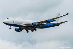 [CDG] Dubai Air Wing / Royal Flight Boeing 747-400F _ A6-GGP (thibou1) Tags: thierrybourgain cdg lfpg spotting aircraft airplane nikon d810 tamron sigma dubaiairwing royalflight boeing boeing747 b747 b747400 b747400f a6ggp landing freight fret dubai