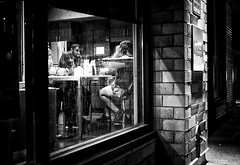 GR (daveson47) Tags: mono monochrome bw blackandwhite dark gritty night street streetphoto people window lowlight urban city minneapolis ricoh ricohgr gr