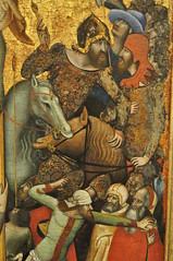"'La Crucifixion"", c. 1335, Vitale da Bologna (Bologne vers 1300-Bologne, 1360), Musée Thyssen-Bornemisza, paseo del Prado, Madrid, Castille, Espagne. (byb64) Tags: madrid мадрид испания кастилия castille vieillecastille castilla castillalavieja eu europe europa европа espagne espana espanha spain spagna spanien ue museothyssenbornemisza muséethyssenbornemisza thyssen thyssenbornemisza musée museum museo музей музейтиссенаборнемисы gothique gotico gothic artgothique xive 14th trecento moyenage medioevo middleages edadmedia vitaledabologna crucifixion"