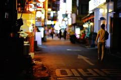 2126/1957 (june1777) Tags: snap street seoul night light bokeh canon eos 5d kyocera contax carl zeiss planar 85mm f14 1600 clear