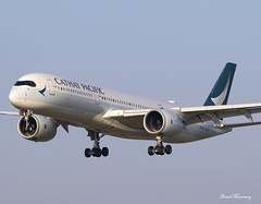 Cathay Pacific A350-900 B-LRU (birrlad) Tags: dublin dub international airport ireland aircraft aviation airplane airplanes airline airliner airlines airways hongkong airbus a350 a359 a350900 a350941 blru cathay pacific arrival arriving approach finals landing runway