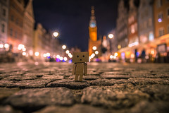 Danbo in Gdansk (Vagelis Pikoulas) Tags: gdansk poland bokeh light lights danbo niceshot night nightscape landscape city cityscape urban perspective view architecture toy canon 6d tokina 2470mm 2019 april spring