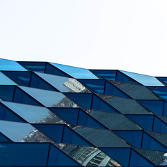 blue#1 (morbs06) Tags: newyork abstract architecture blue building city cladding colour facade geometry glazing light lines pattern reflections repetition sky square stripes white