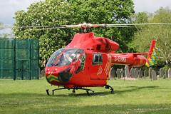 London's Air Ambulance in Willesden (kertappa) Tags: img6415 air ambulance londons london hems doctor paramedics hospital gehms emergency helicopter kertappa willesden st marys