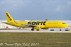DSC_4000Pwm (T.O. Images) Tags: n680nk spirit airlines airbus a321 fll fort lauderdale florida