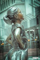 Fearless Girl, Wall Street, New York (yravaryphotoart.com) Tags: fearlessgirl wallstreet newyork canoneos7d canon canonef24105mmf4lisusm yravaryphotoart yravary