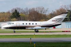N68UP Falcon 20F 258 KPTK (CanAmJetz) Tags: falcon 20f kptk ptk bizjet classic 258 takeoff aircraft airplane dassault n68up