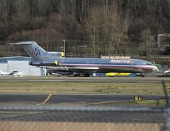American Airlines                                            Boeing 727                                   N874AA (Flame1958) Tags: american americanb727 boeing b727 727 n874aa boeingfield bfi kbfi 0216 2016 020216 2025