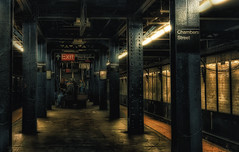 Chambers Street Station,NYC (Sunset Dogs) Tags:
