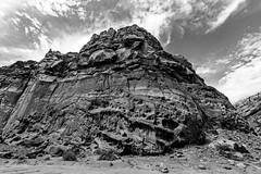 Capitol Reef (ValeTer_) Tags: rock black blackandwhite outcrop monochrome photography geology geological phenomenon sky bedrock formation nature landscape utah capitol reef nikon d7500