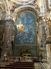 Tela quaresimale o della Passione nella chiesa di Santa Caterina (costagar51) Tags: palermo sicilia sicily italia italy arte storia chiese anticando