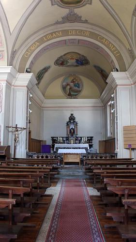 Giumaglio - Altar der Pfarrkirche Santa Maria Assunta