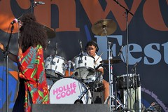 363-20180603_14th Wychwood Music Festival-Cheltenham-Gloucestershire-Main Stage-Hollie Cook Band-drums (Nick Kaye) Tags: wychwood music festival cheltenham gloucestershire england