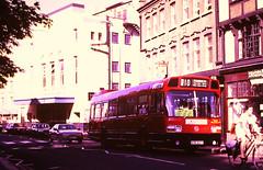 Slide 139-15 (Steve Guess) Tags: london buses kingston bus kingfisher routek10 greater kingstonuponthames surrey england gb uk leyland national ls highstreet ayr307t ls307