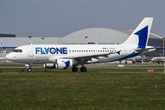 ER-00002 Fly One Airbus A319-112 (Nathan_Ivanov) Tags: airplane aircraft vko vnukovo uuww spotting airbus airbusa319 flyone