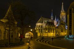 Mátyás templom (Szőke Misi) Tags: budapest hungary éjszaka mátyás templom night nikond7100 sigma1020f35