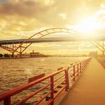 Daniel Hoan Memorial Bridge (Milwaukee, WI) thumbnail