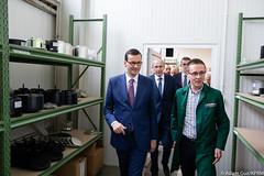 Wizyta w firmie TIP-TOPOL (Kancelaria Premiera) Tags: premier mateuszmorawiecki tiptopol wizyta polskawieś