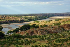 Confluence Point (looking eastwards) (sacipere) Tags: mapungubwe limpopo southafrica suedafrika river fluss rio landscape