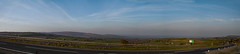 A66 Sunday morning (Adrian Walker.) Tags: elements panorama a66 road sky