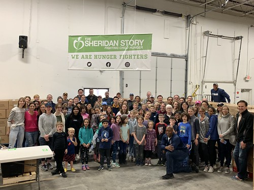Breck School Packing Event 4/27/19